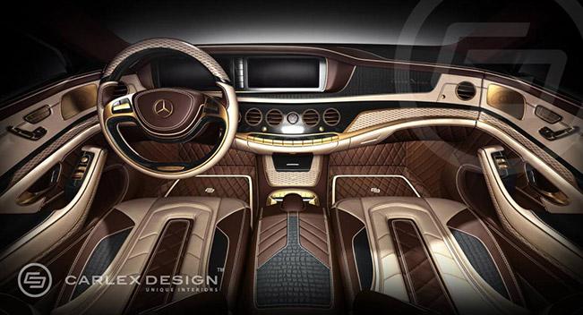 carlex design interior for 2014 mercedes benz s class. Black Bedroom Furniture Sets. Home Design Ideas