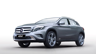 Eibach Releases Suspension Program For Mercedes-Benz GLA