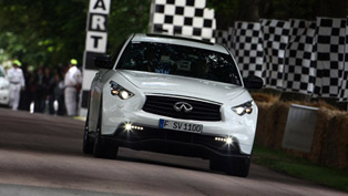 Infiniti FX Vettel Edition To Be Shown At Goodwood