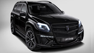 Larte Design Mercedes-Benz GL Black Crystal Is Big, Bold And Beautiful