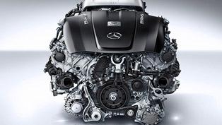 Mercedes-Benz AMG GT - V8 4.0 liter Twin-turbo Engine [video]