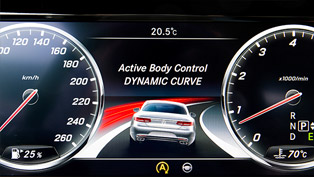Mercedes-Benz S-Class Coupe - Curve Control System