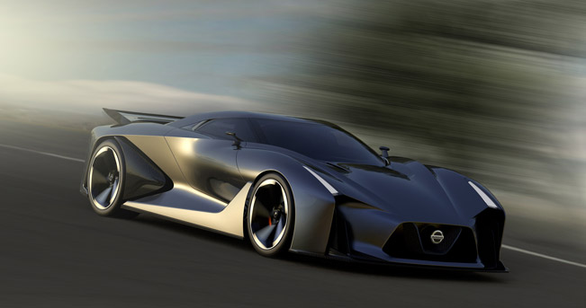 Nissan Concept 2020 Vision Gran Turismo Has Been Introduced Last Week And It Was Also Announced That The Virtual Car Will Join Playstation3 On 6th