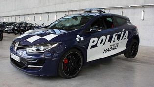 Two Renault Megane RS Cars for the Madrid Police