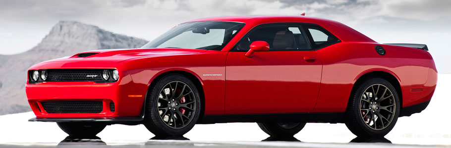 dodge challenger srt hellcat side