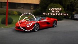 Ferrari Marks 15 million Facebook Fans with LaFerrari On-board Google Glass Video at Fiorano