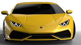 Lamborghini Huracan LP610-4 with 329 km/h [video]