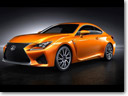 "2015 Lexus RC F Adds ""Solar Flare"" Paint Finish Chosen By Fans"