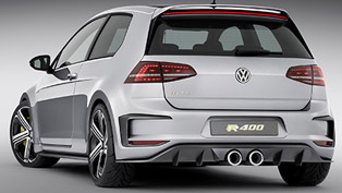 Volkswagen Golf R 400 Concept [video]