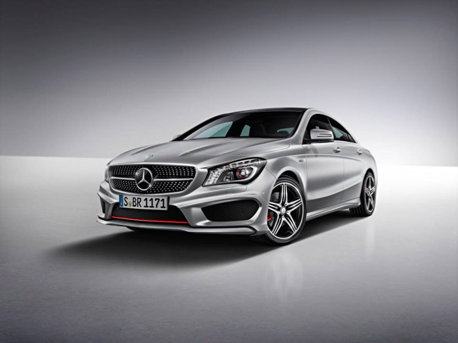 Mercedes-Benz Reveals CLA250 Sport Package Plus