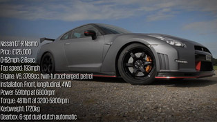 2014 Nissan GT-R Nismo EU-Spec - Road and Track Test