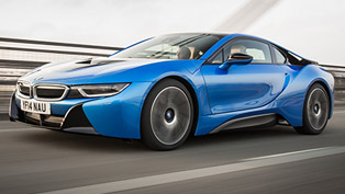 2015 BMW i8 UK - Price £94,845