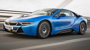 2015 BMW i8 UK - Price £94,845