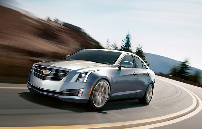 2015 cadillac ats sedan officially unveiled. Black Bedroom Furniture Sets. Home Design Ideas