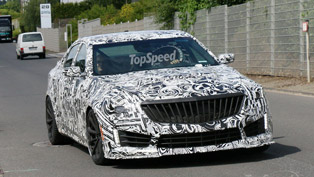 Cadillac works on 2016 CTS-V model