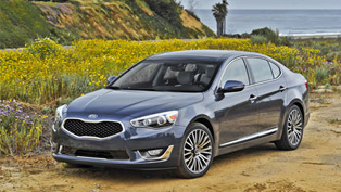 Kia Cadenza Premium And Limited Enhanced For MY2015
