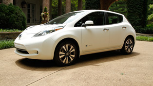 Nissan Leaf - The World's Cleanest Self-Washing Car