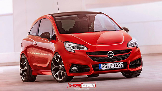 2015 opel corsa opc render. Black Bedroom Furniture Sets. Home Design Ideas