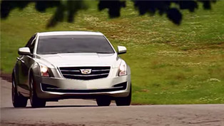 2015 Cadillac ATS Sedan Shown