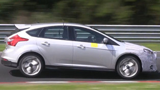 2016 Ford Focus RS at the Nurburgring [video]