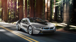BMW i8 Concours d'Elegance Edition To Be Auctioned At Pebble Beach