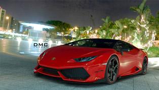 DMC Teases Lamborghini Huracan Affari