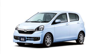 2014 Daihatsu Mira e:S Mini Gets Upgrades