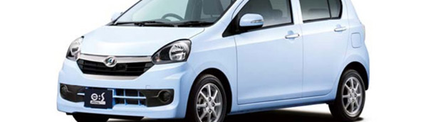 2014 Daihatsu Mira e:S Mini Gets Upgrades