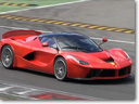 Ferrari LaFerrari XX Prototype at the Monza Race Track