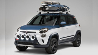 Fiat 500L Vans Concept Shown At Huntington Beach