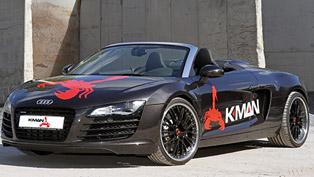 K.MAN Audi R8 V8 Bi-Turbo GTK, GTK S and GTK RS