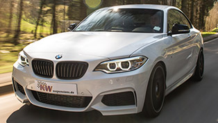 kw 2014 bmw 2-series m235i - adaptive ddc coilovers