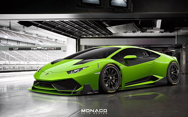 Lamborghini Huracan Super Trofeo Render