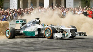 2014 Goodwood Festival of Speed - Visitors Record 200,000