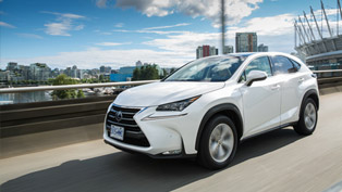 2015 Lexus NX 300h SUV To Score Five Stars Via Green Vehicle Guide