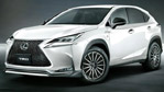 Lexus NX with TRD Styling Accessories