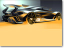 McLaren P1 GTR Design Concept To Debut At Pebble Beach