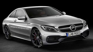 Mercedes-Benz C63 AMG Coupe [render]