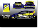 "Steve Arpin's Ford Fiesta Is ""Royal Purple"""