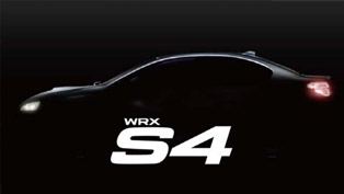 Subaru Teases New WRX S4 Sports Sedan