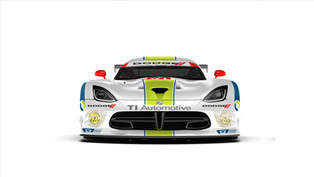 TI Automotive Has New Livery For Dodge Viper SRT GTS-R