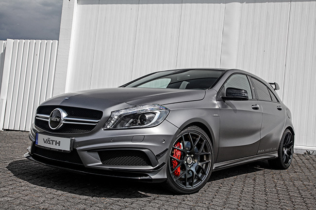 vath mercedes benz a45 amg Mercedes MLK vath has unveiled their tuning program for mercedes benz a45 amg the ultra hot hatchback was unveiled back in 2013 and since then several tuning panies