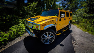 hummer h2 by vilner is perfect for the summer