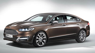 2015 Ford Mondeo Based on the CD4 Platform