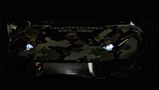 Lamborghini Huracan Super Trofeo Is Ready For Full Reveal
