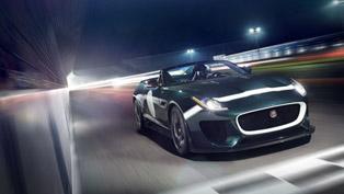Jaguar F-TYPE Project 7 Makes Dynamic Debut At Le Mans Classic