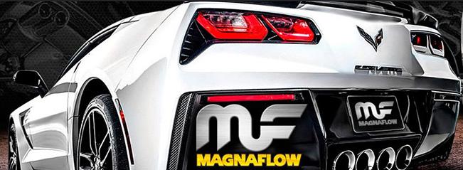 Chevrolet Corvette C7 with Magnaflow