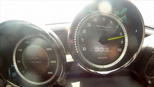 Porsche 918 Spyder - 0-333 km/h [video]
