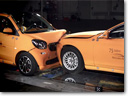 2014 Smart ForTwo vs 2014 Mercedes-Benz S-Class – Crash Test