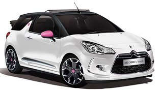 Citroen DS3 Cabrio DStyle by Benefit Special Edition - Price £18,745
